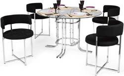 Conjunto mesa e cadeiras Artri Bruxelas CA 211