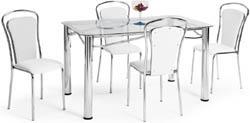 Conjunto mesa e cadeiras             Artri Lisboa CA 206
