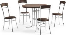 Conjunto mesa e cadeiras             Artri Moscou CA 226