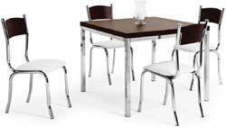 Conjunto mesa e cadeiras             Artri Oslo CA 201