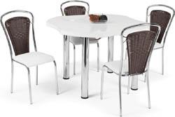 Conjunto mesa e cadeiras             Artri Pequim CA 212