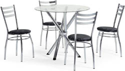 Conjunto mesa e cadeiras             Artri Roma CA 222