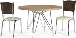 Conjunto mesa e cadeiras Artri Sara CA 227