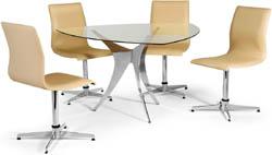 Conjunto mesa e cadeirasSidamo Argel CA 224