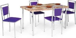 Conjunto mesa e cadeiras Artri Toquio CA 219