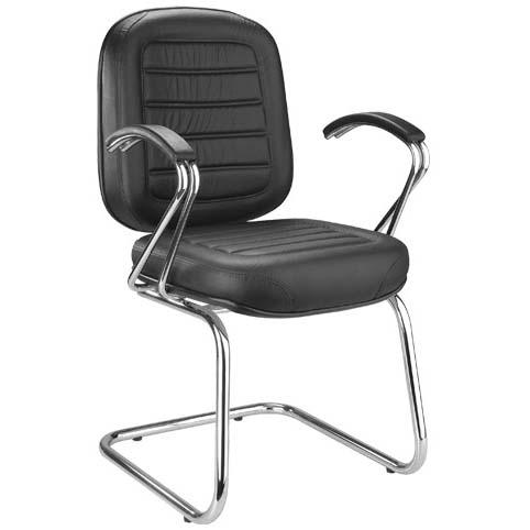 Cadeira Chrome aproximação fixa             balanço cromada