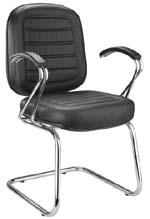Cadeira Chrome diretor aproximação                         cromada