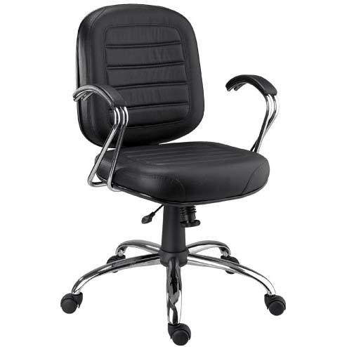 Cadeira Chrome diretor giratória cromada