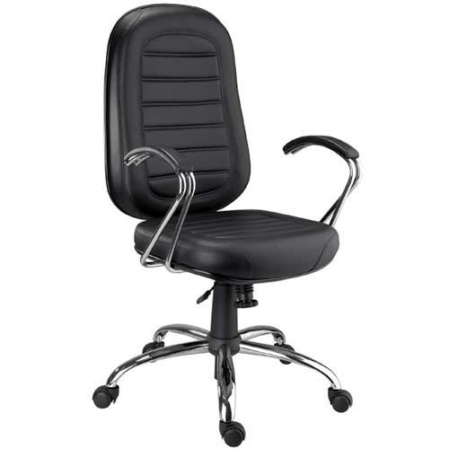 Cadeira Chrome presidente giratória cromada