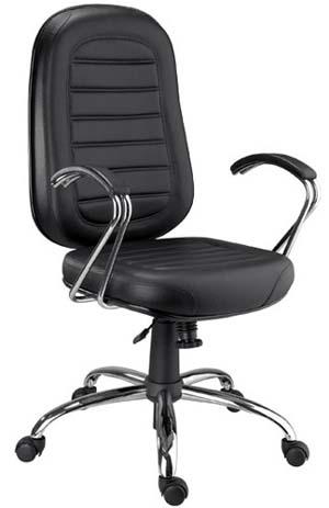 Cadeira Chrome presidente girat�ria cromada