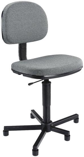 Detalhes da cadeira costureira giratória