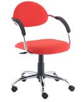 Cadeira Presence secretária giratória