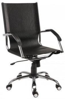 Cadeira Supreme             Presidente giratória cromada braço curvo SU1338CVO