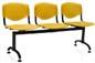 Longarina Evidence tubular                         pintura epóxi preta                         polipropileno amarelo