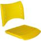 Cadeiras ISO assento encosto polipropileno                         injetado CPCJ119U5