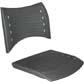 Cadeiras ISO assento encosto polipropileno                         injetado cinza grafite CPCJ119U02