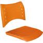 Assento encosto ISO polipropileno injetado                         laranja CPCJ119U30