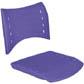 Cadeiras ISO assento encosto polipropileno                         injetado roxo CPCJ119U41