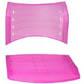 Assento encosto ISO polipropileno injetado                         pink translucido CPCJ119U38