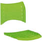 Cadeiras ISO assento encosto polipropileno                         injetado verde translucido CPCJ119U27