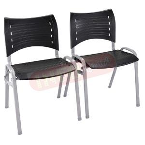 Cadeira ISO empilhável com engate