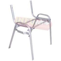 Cadeiras ISO estrutura epóxi cinza