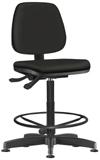 Cadeira Job operacional com aro e back system