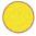 Longarina plástica polipropileno amarela