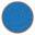 Longarina plástica polipropileno azul translúcido