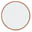 Longarinas plásticas polipropileno branca sólido