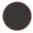 Longarina plástica polipropileno preto sólido