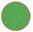 Longarina plástica polipropileno verde                         translúcido