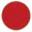 Longarinas plásticas polipropileno vermelho sólido