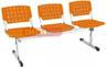 Longarinas cromadas cromadas Ergo                         polipropileno laranja