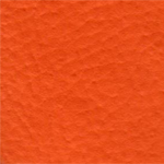 Cadeira chrome courvin laranja