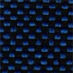 14 - Tecido polipropileno azul mesclado preto - Longarina secretária banco de espera