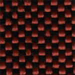 13 - Tecido polipropileno bordô mesclado preto - Longarina secretária banco de espera