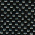 15 - Tecido polipropileno cinza mesclado preto - Longarina secretária banco de espera