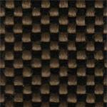 11 - Tecido polipropileno marrom mesclado preto -             Cadeira costureira