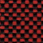 12 - Tecido             polipropileno vermelho mescaldo preto - Longarina             secretária banco de espera