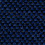 636 - Tecido             poliéster azul mesclado             preto - Longarina             secretária banco de             espera