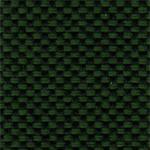 633 - Tecido             poliéster verde mesclado             preto - Longarina             secretária banco de             espera