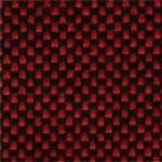 635 - Tecido             poliéster vermelho             mesclado preto - Longarina             secretária banco de             espera