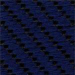 LV23 - Tecido polipropileno azul mesclado             preto - Cadeira costureira