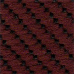 LV11 - Tecido polipropileno bordô mescaldo preto - Longarina secretária banco de espera
