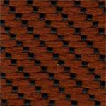 LV14 - Tecido polipropileno vermelho mesclado             preto - Cadeira costureira