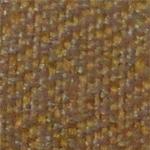 SIL 74 -             Tecido polipropileno e poliéster amarelo com marrom             - Longarina secretária banco de espera