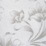 10 - Corino Floral branco cinza - Cadeirascromadas para cozinha Sidamo